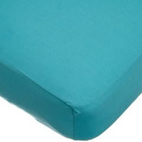 American Baby Company Supreme Jersey Knit Fitted Crib Sheet, Turquoise