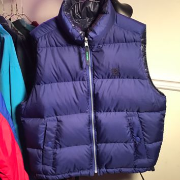 90's Eddie Bauer Reversible Bubble Vest