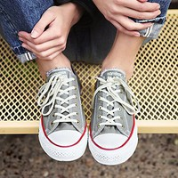 Converse Womens Distressed Low Top Chucks