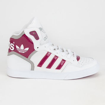 Adidas Extaball Womens Shoes White Combo  In Sizes