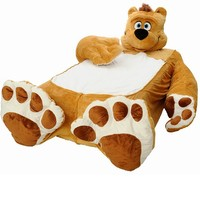 Incredibeds Teddy Bear Brown Bed Twin