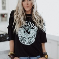 Freedom Distressed Graphic Tee