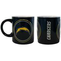 San Diego Chargers NFL Coffee Mug - 14oz Sculpted Warm Up (Single Mug)