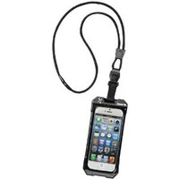 DRI CAT 11060P-C20 Neck It Waterproof Case with Lanyard for iPhone 5 - 1 Pack - Retail Packaging - Black