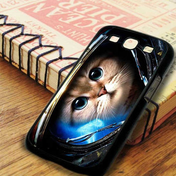 Astronaut Cat In Space Kitty Samsung Galaxy S3 Case