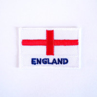 England Flag Patch/Iron on Patch/Applique/Embroidery