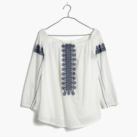 Folktale Off-the-Shoulder Top