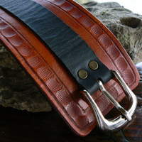 Brown Leather Watch, Mens Leather Watch, Womens Leather Watch, Leather Cuff Watch, Leather Wrist Watch, Bracelet Watch, Montre, 2