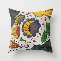 Forever Throw Pillow by Even In Death