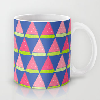 Watermelon Angles Mug by Ariel Lark