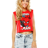 Papaya Clothing Online :: SPIDERMAN GRAPHIC TOP