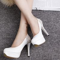 2016 hot sale new fashion women high heel shoes ladies fashion lady pumps woman sexy footwear heels platform shoes 628-32