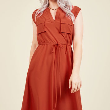 Understated Greatness A-Line Dress | Mod Retro Vintage Dresses | ModCloth.com