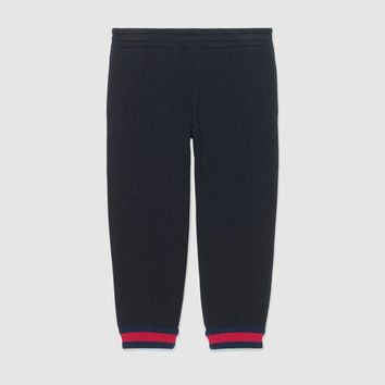 Gucci Children's cotton pant with Web
