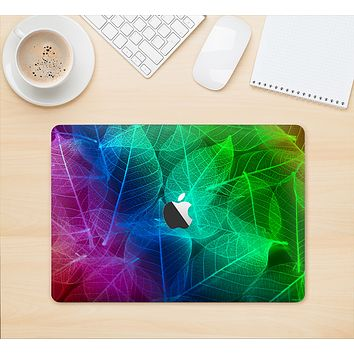 """The Glowing Leaf Structure Skin Kit for the 12"""" Apple MacBook"""