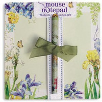 Iris Mousepad Notepad and Pen