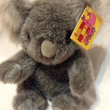 Koala Bear Plush Stuffed San Diego Zoo wild animal party Souvenir Orig tag
