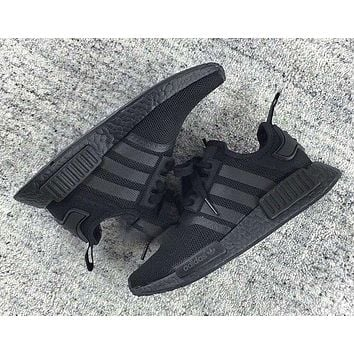 Adidas NMD R1 3M Reflective shoelace Fashion Trending Running Sports Shoes NMD RUNNER