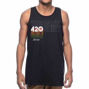 MENS THIS IS MY 420 SHIRT TANK