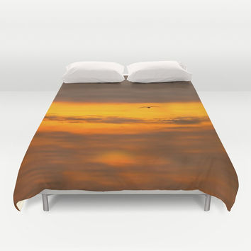 sunset Duvet Cover by Anabprego