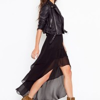 Tiered Tail Skirt in  Clothes at Nasty Gal