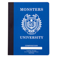 Disney Monsters University Composition Book | Disney Store