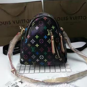 LV Women Fashion Shoulder Bag Bookbag Backpack Daypack