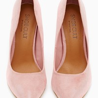 Shoe Cult Luxe Pump - Blush