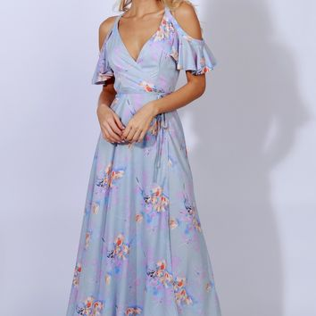 Whisk Me Away Floral Dress