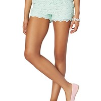 Crochet Tiered Short