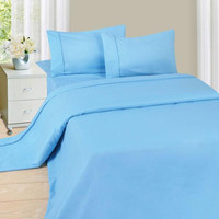 Lavish Home Series 1200 4 Piece Full Sheet Set - Blue