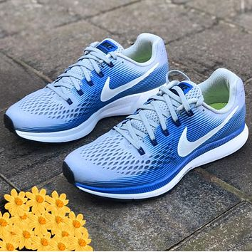 Nike Air Zoom Pegasus Lunar 34th Sprots Shoes Generation Running Shoes