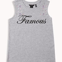Famous Heathered Muscle Tee | FOREVER 21 - 2058480717