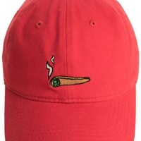 Blunted Dad Hat (Red)