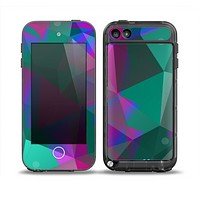 The Raised Colorful Geometric Pattern V6 Skin for the iPod Touch 5th Generation frē LifeProof Case