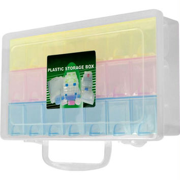 Stalwart? Multi Color 22 Compartment Storage Box