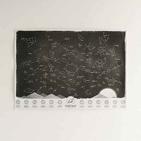 Glowing Star Scratch Map - Urban Outfitters