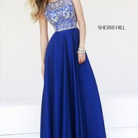 Sherri Hill Beaded Dress 32017