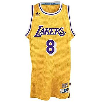 Kobe Bryant Los Angeles Lakers Gold Throwback Swingman Jersey