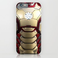 iron/man mark XLII restyled for samsung s4 iPhone & iPod Case by Emiliano Morciano (Ateyo)