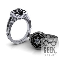 Imperial Engagement Ring - Ladies
