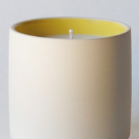 Large Color Block Candle