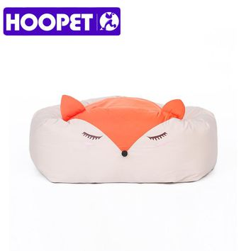 HOOPET Cute Cartoon Dogs Bed Puppy Soft Cat Dog Sleeping Bed House Kennel Pad Cushion Mat Pet Supplies Three Styles