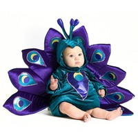 Peacock Costume - Baby (Purple)