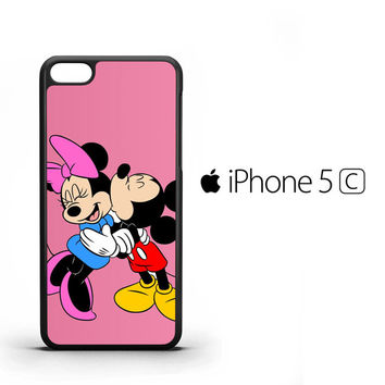 Romantic Mickey and Minnie Mouse Z1357 iPhone 5C Case