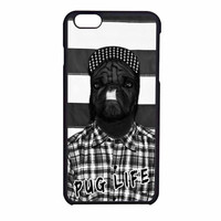 Funny Pug Life 2 iPhone 6 Case