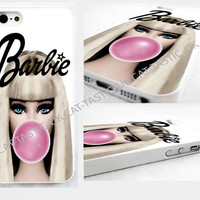 case,cover fits iPhone and samsung models>barbie,bubble gum,vintage, Marilyn
