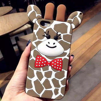 Best Protection Deer iPhone 7 7 Plus & iPhone 6 6s Plus Case Cover + Gift Box