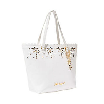 COCONUTS ABOUT YOU TOTE: Betsey Johnson