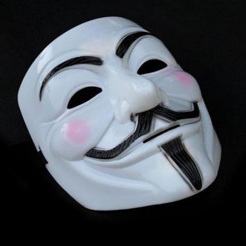 Hot V for Vendetta Anonymous Cosplay Masks Halloween for Costume Party Halloween = 1645719492